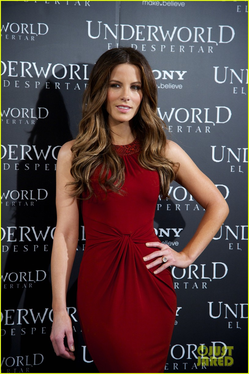 kate beckinsale underworld awakening madrid photocall 10