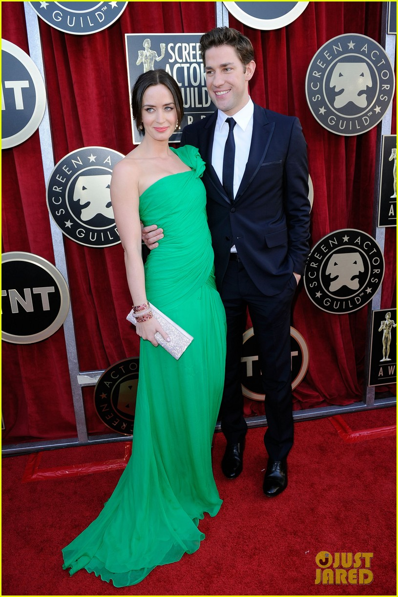 emily blunt sag awards john krasinski 05