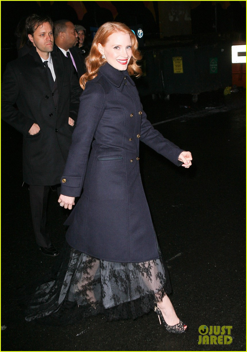 jessica chastain letterman 05