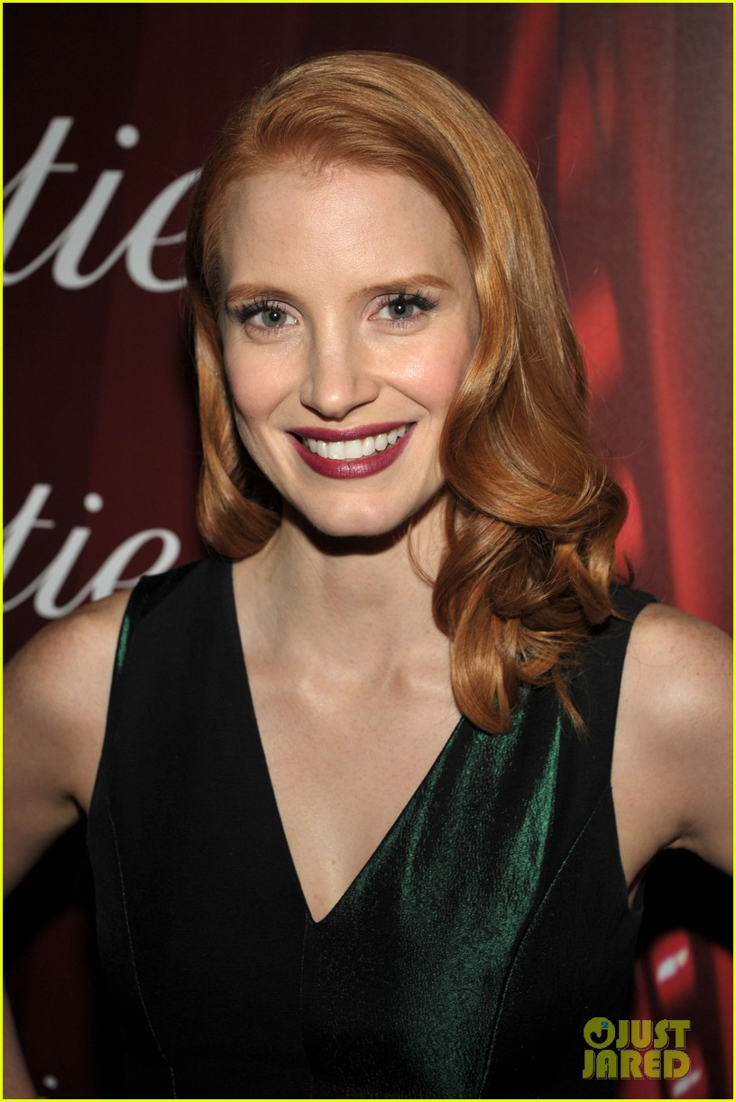 Jessica Chastain just jared