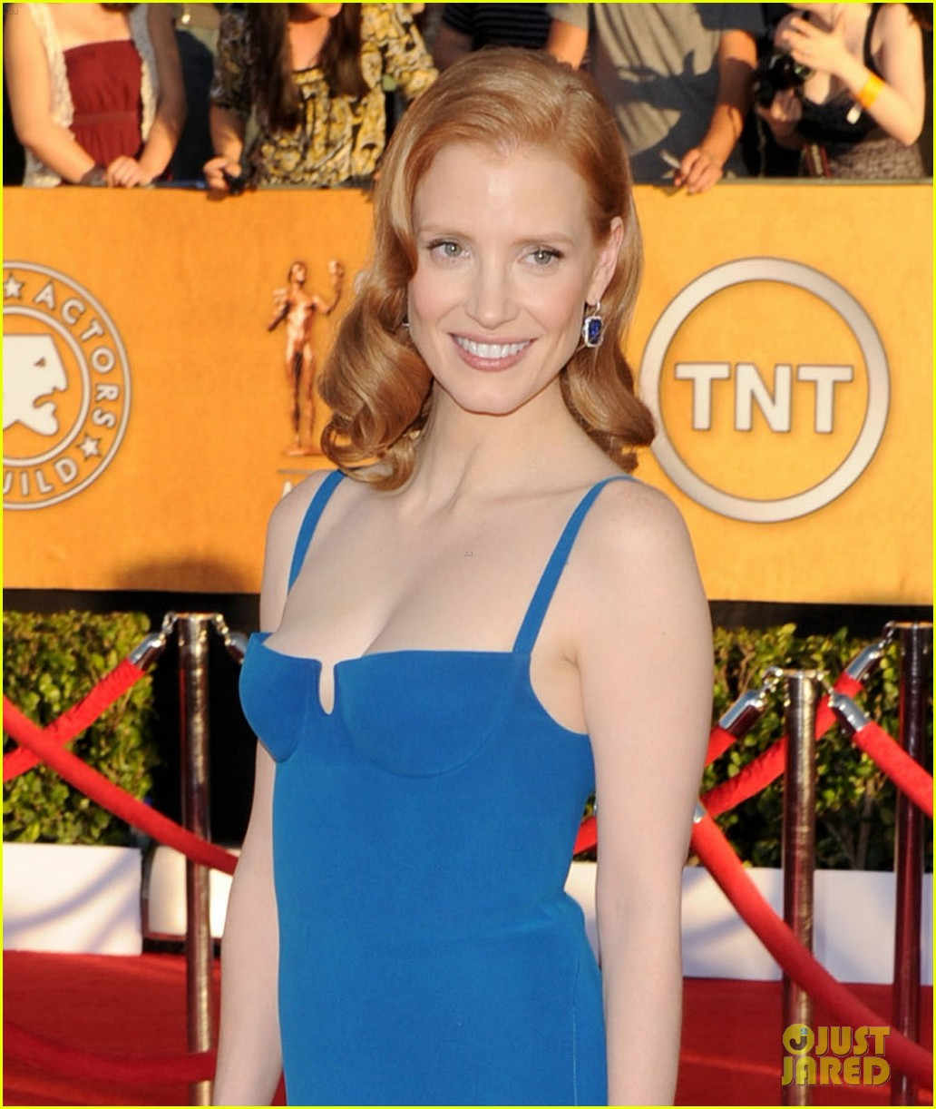 jessica chastain sag awards 2012 01