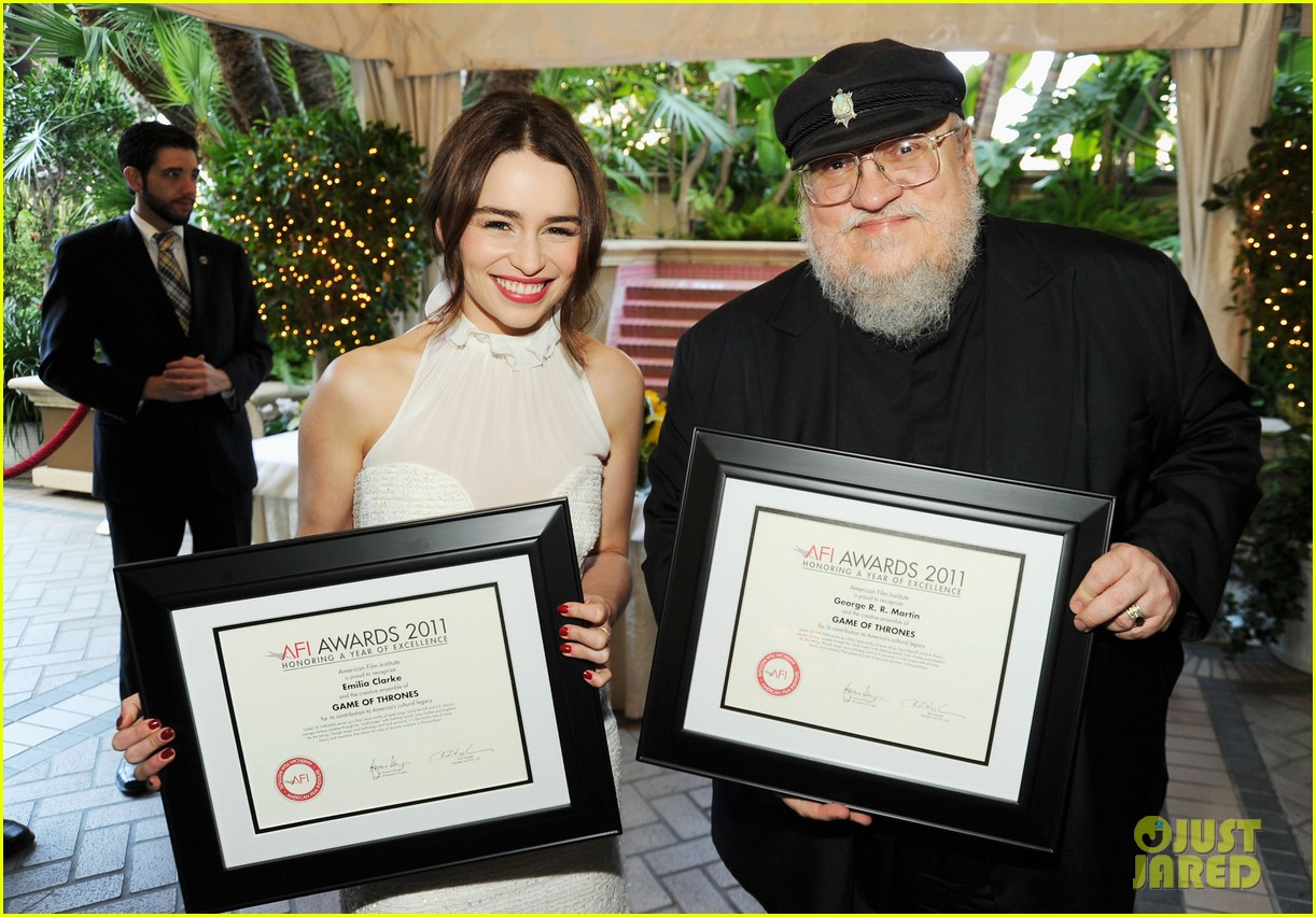emilia clarke afi awards 2012 with jason momoa 062617398