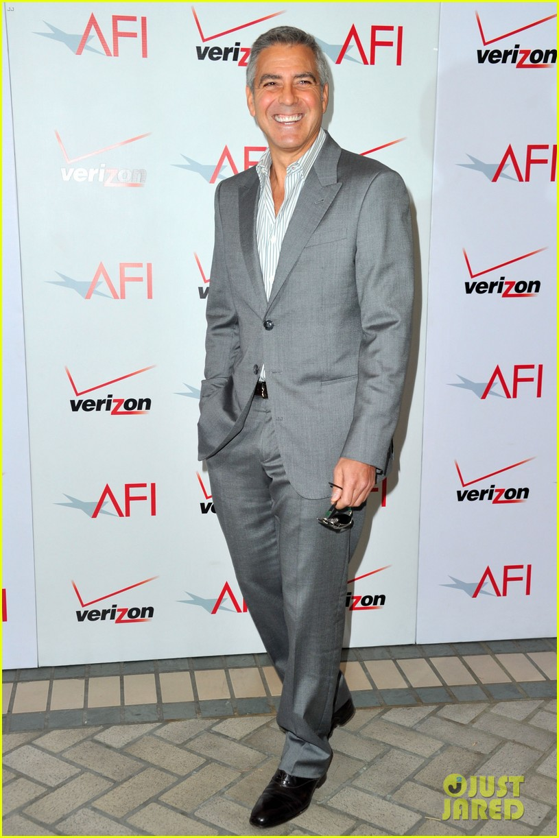 george clooney claire danes afi awards 2012 red carpet 072617354