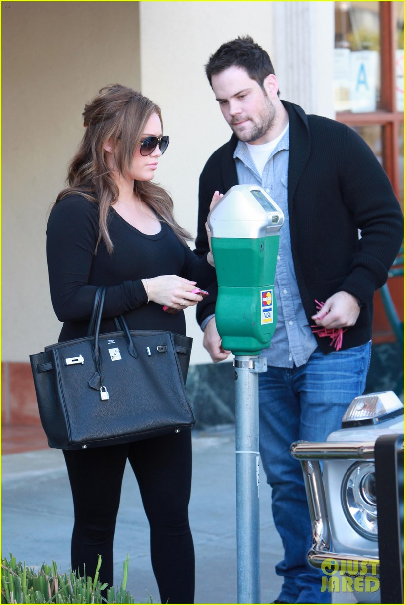 hilary duff mike comrie checkup doctor 022621904