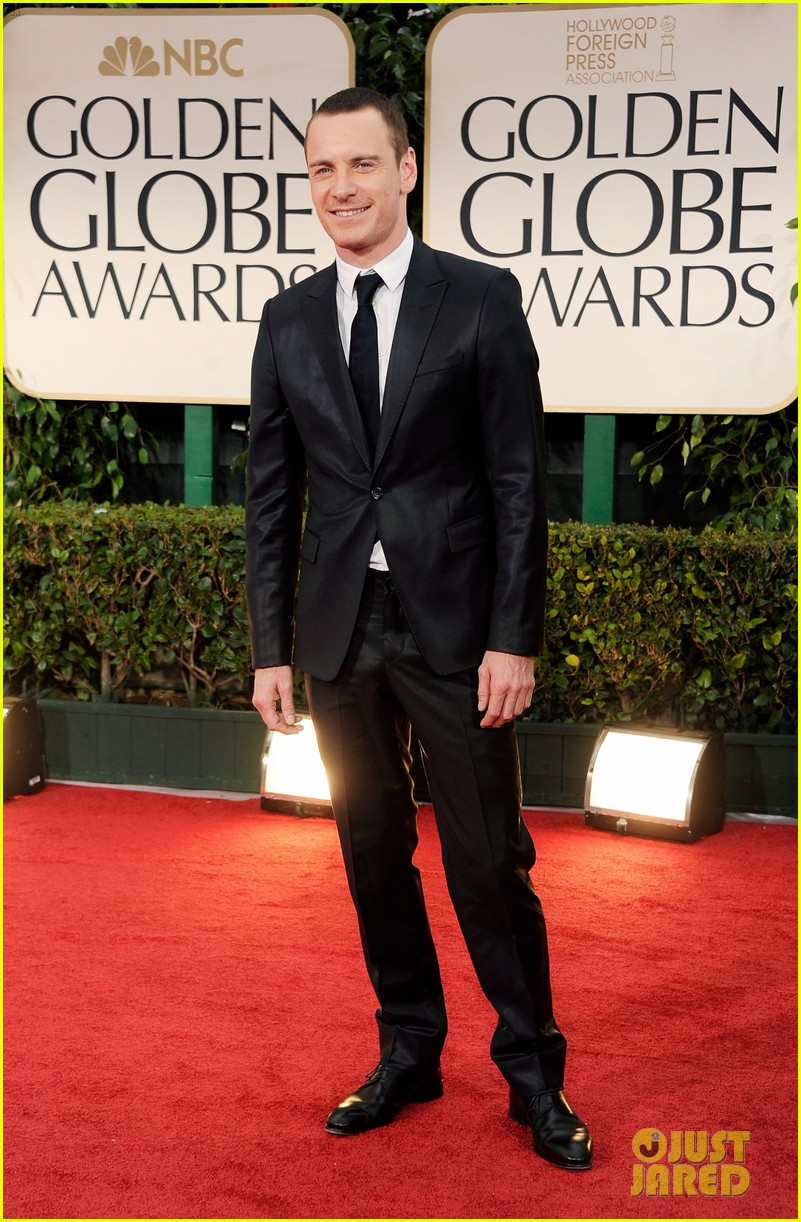 michael fassbender golden globes 2012 03