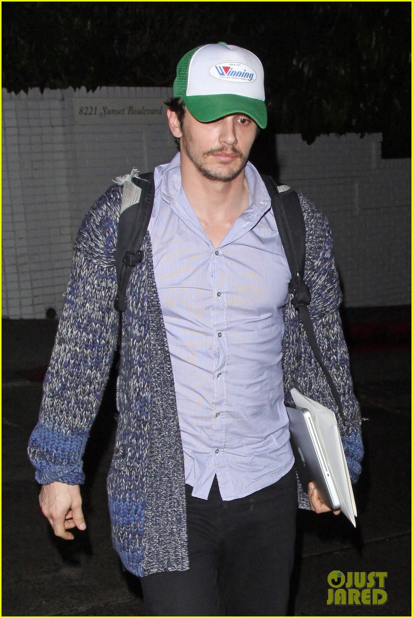 james franco trucker hat chateau marmont 05