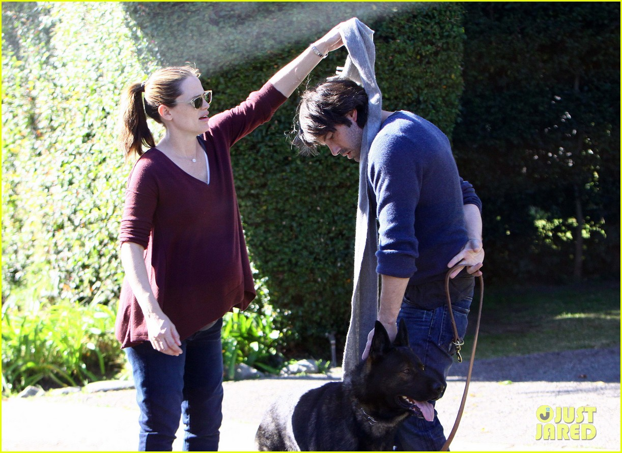 jennifer garner ben affleck girls dog 02