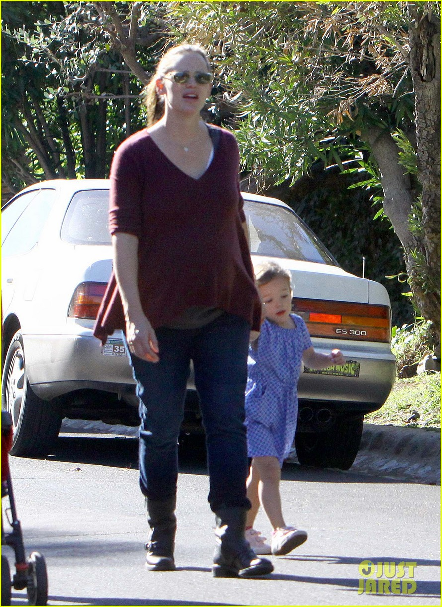 jennifer garner ben affleck girls dog 09