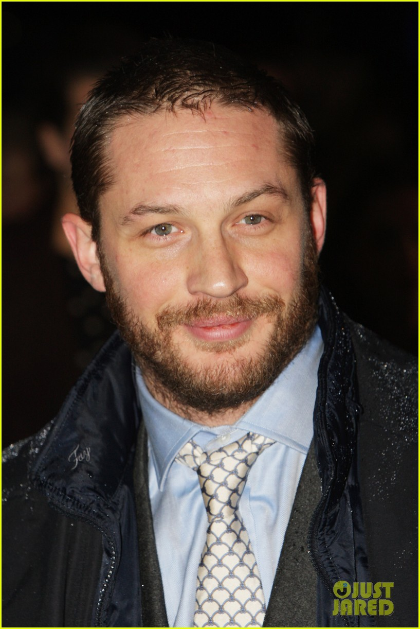 tom hardy iron lady european premiere 02