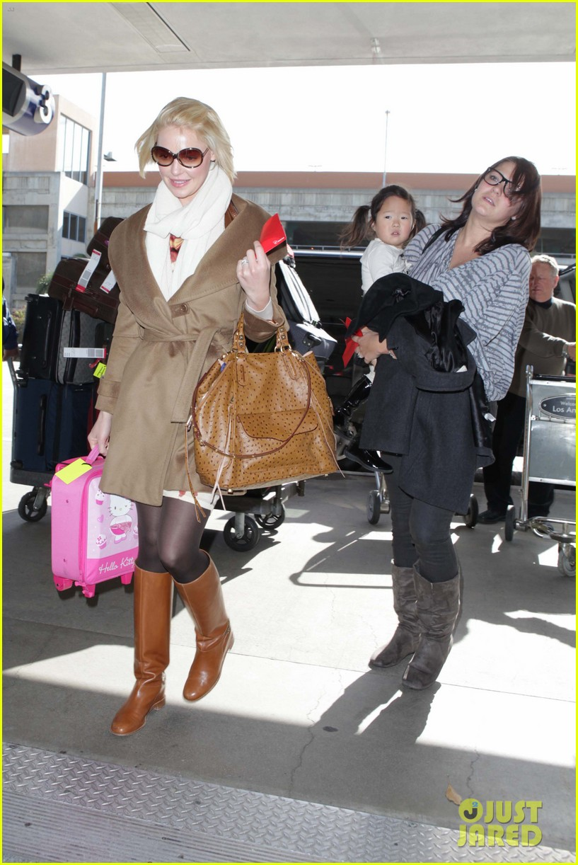 katherine heigl nancy flight lax 06