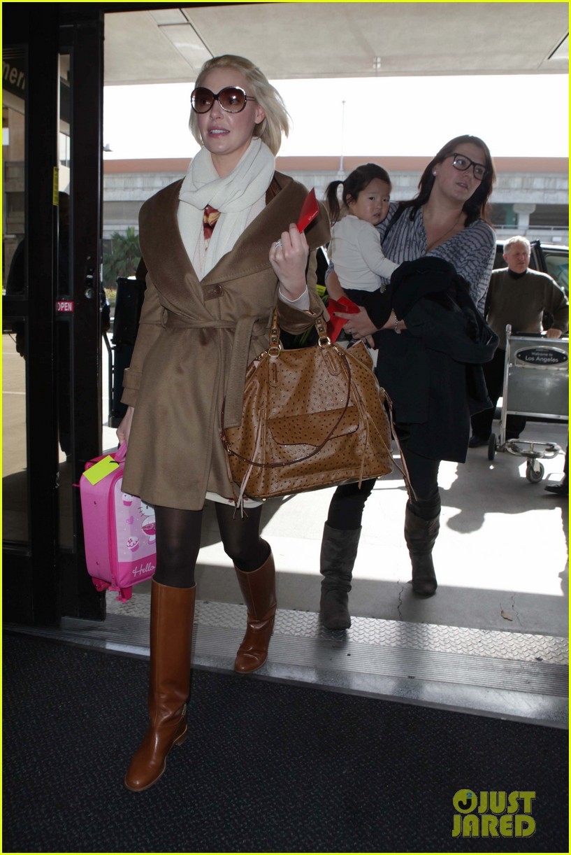 katherine heigl nancy flight lax 112620774