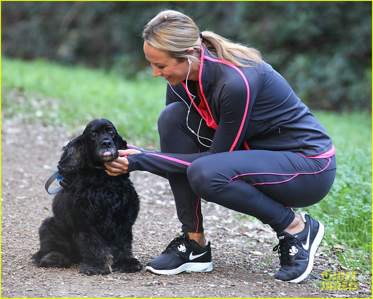 stacy keibler george clooney dog 16