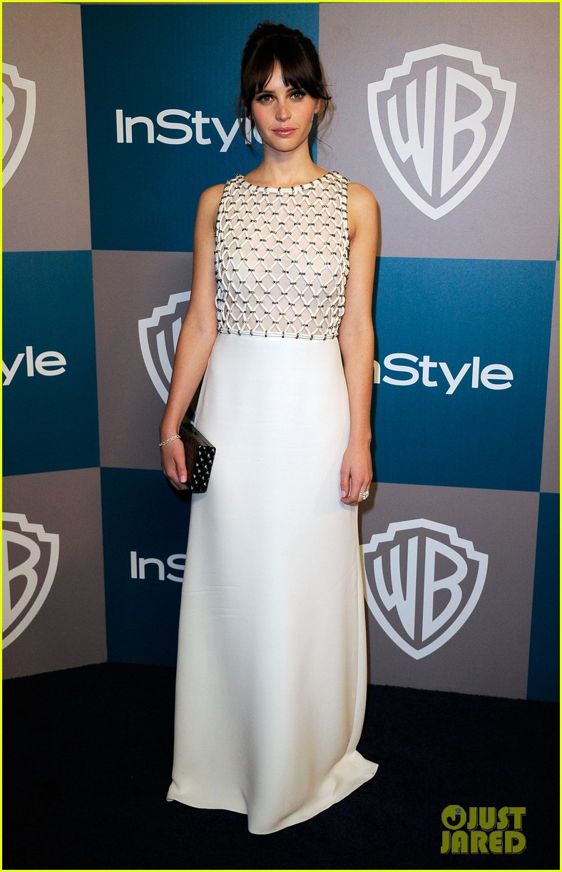 jaime king felicity jones golden globes after party 05