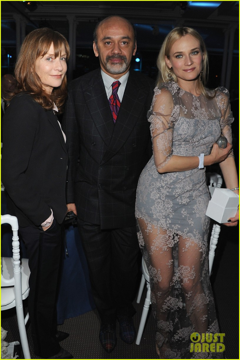 diane kruger dita von teese sidaction dinner 15