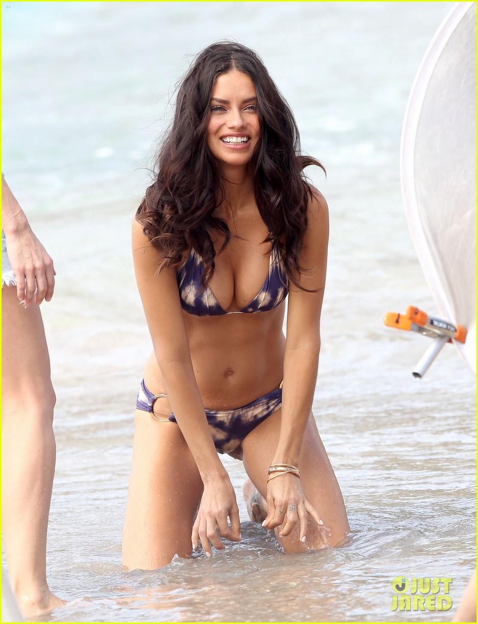 Adriana Lima: Adriana Lima Bikini Spread Alessandra Ambrosio Bellazon