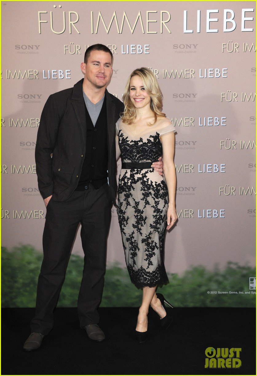 rachel mcadams channing tatum the vow german photo call 05