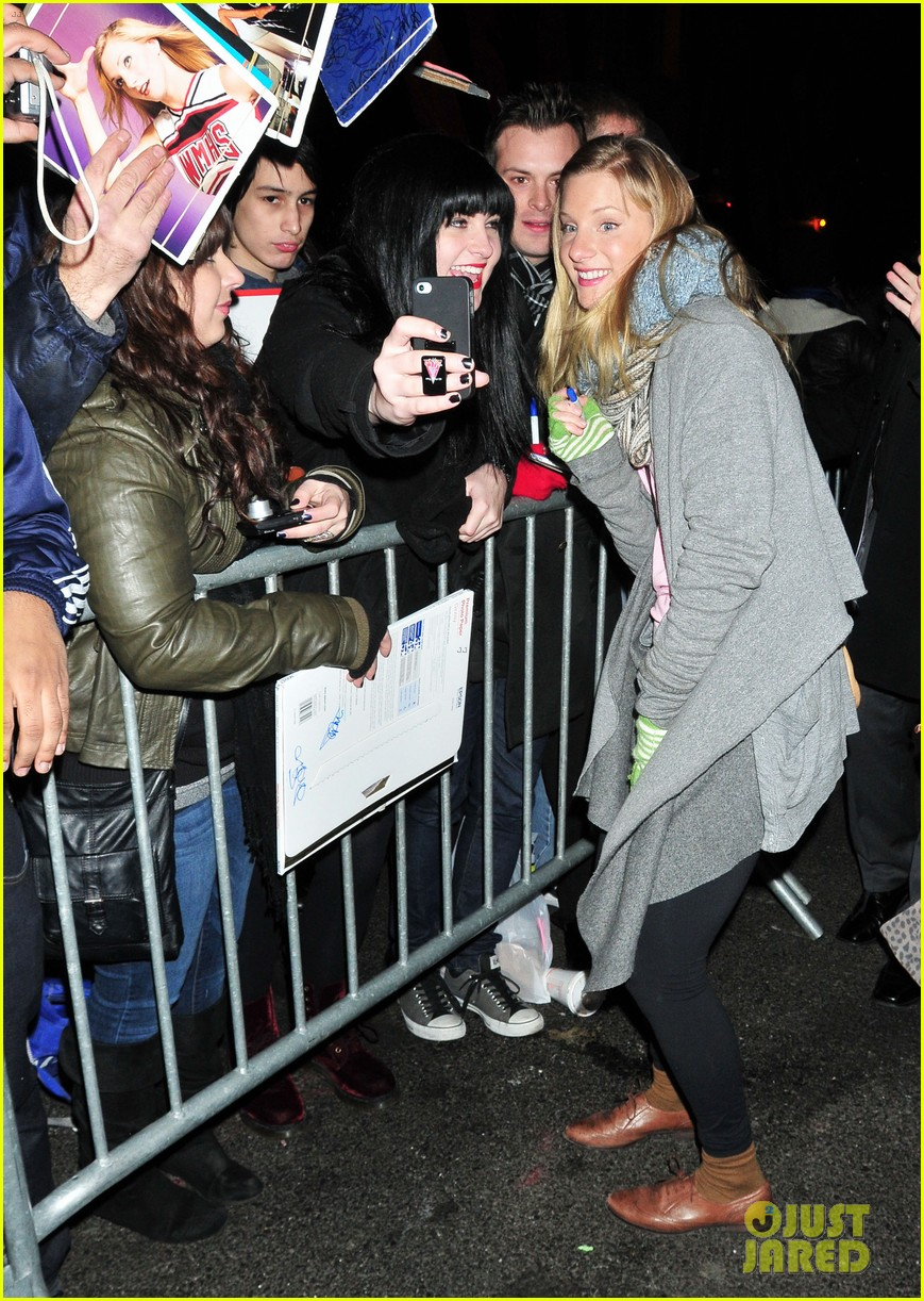 heather morris late show in nyc 01
