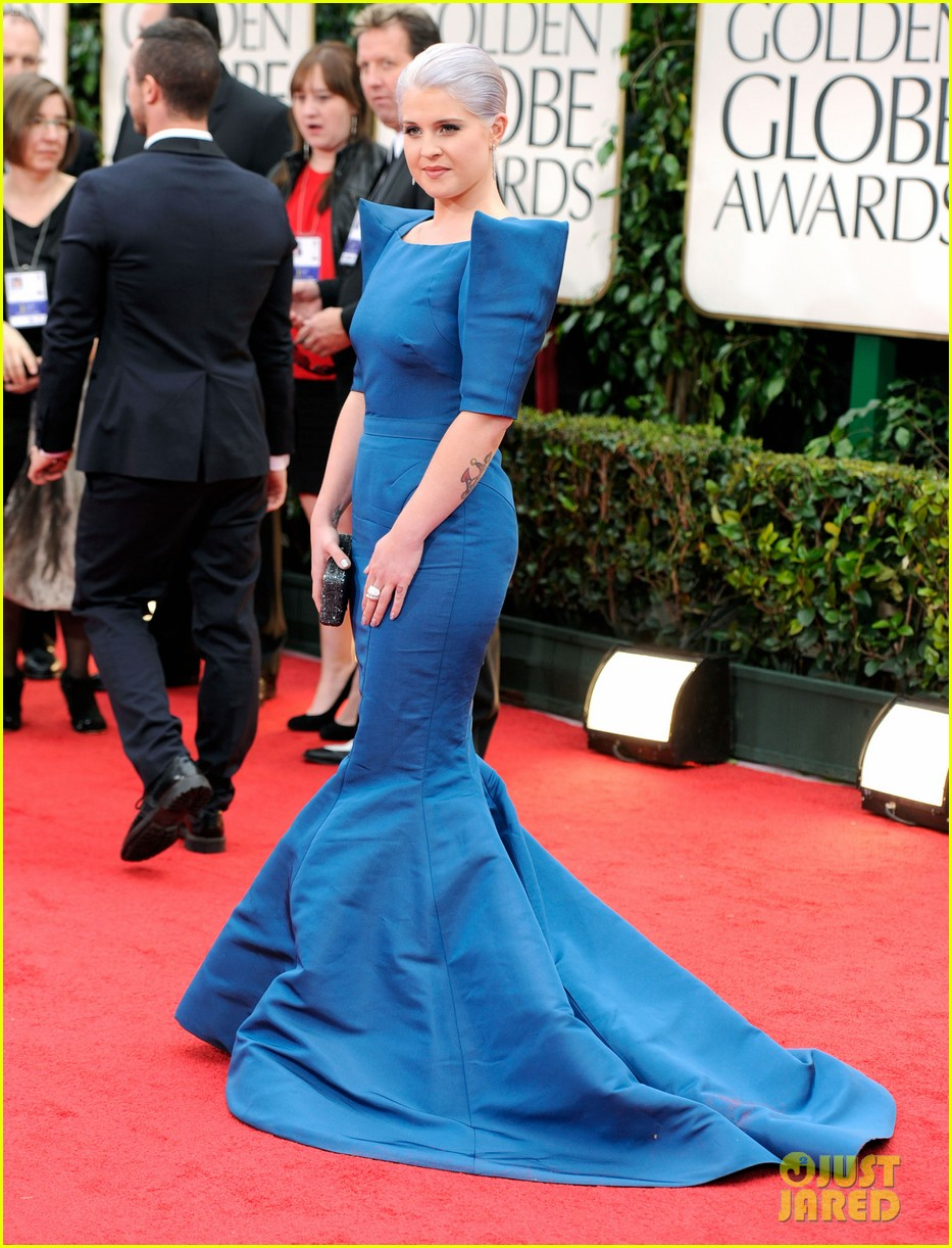 kelly osbourne golden globes 2012 red carpet 032618309