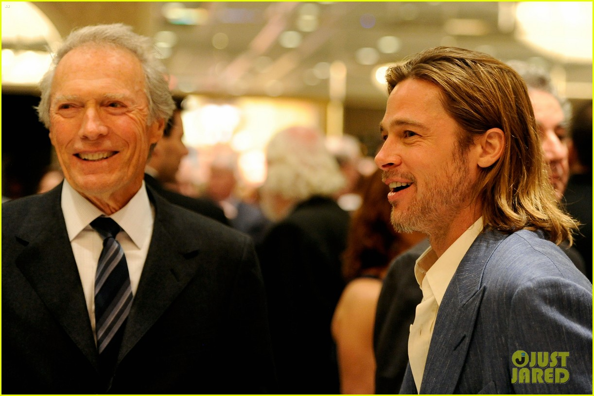 brad pitt afi awards clint eastwood 02