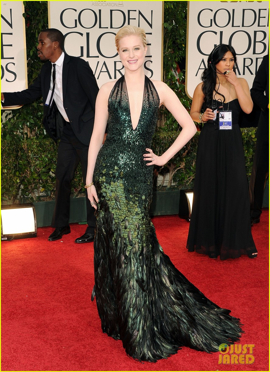 evan rachel wood golden globes 2012 02