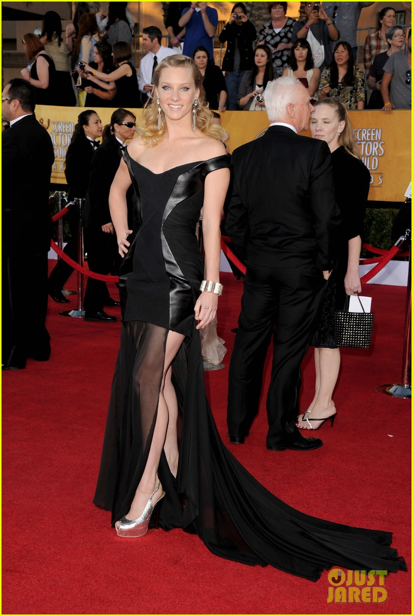 naya rivera heather morris sag awards 04