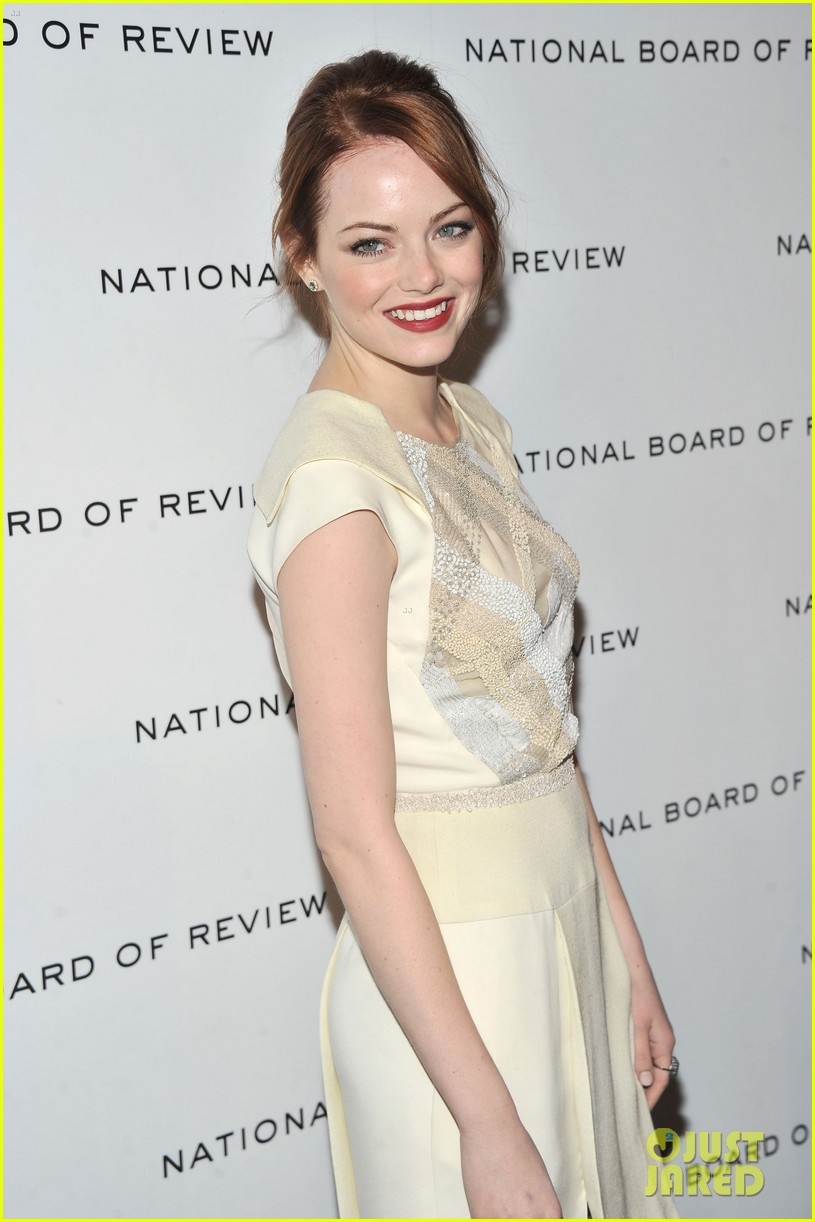 emma stone jessica chastain national board review 01