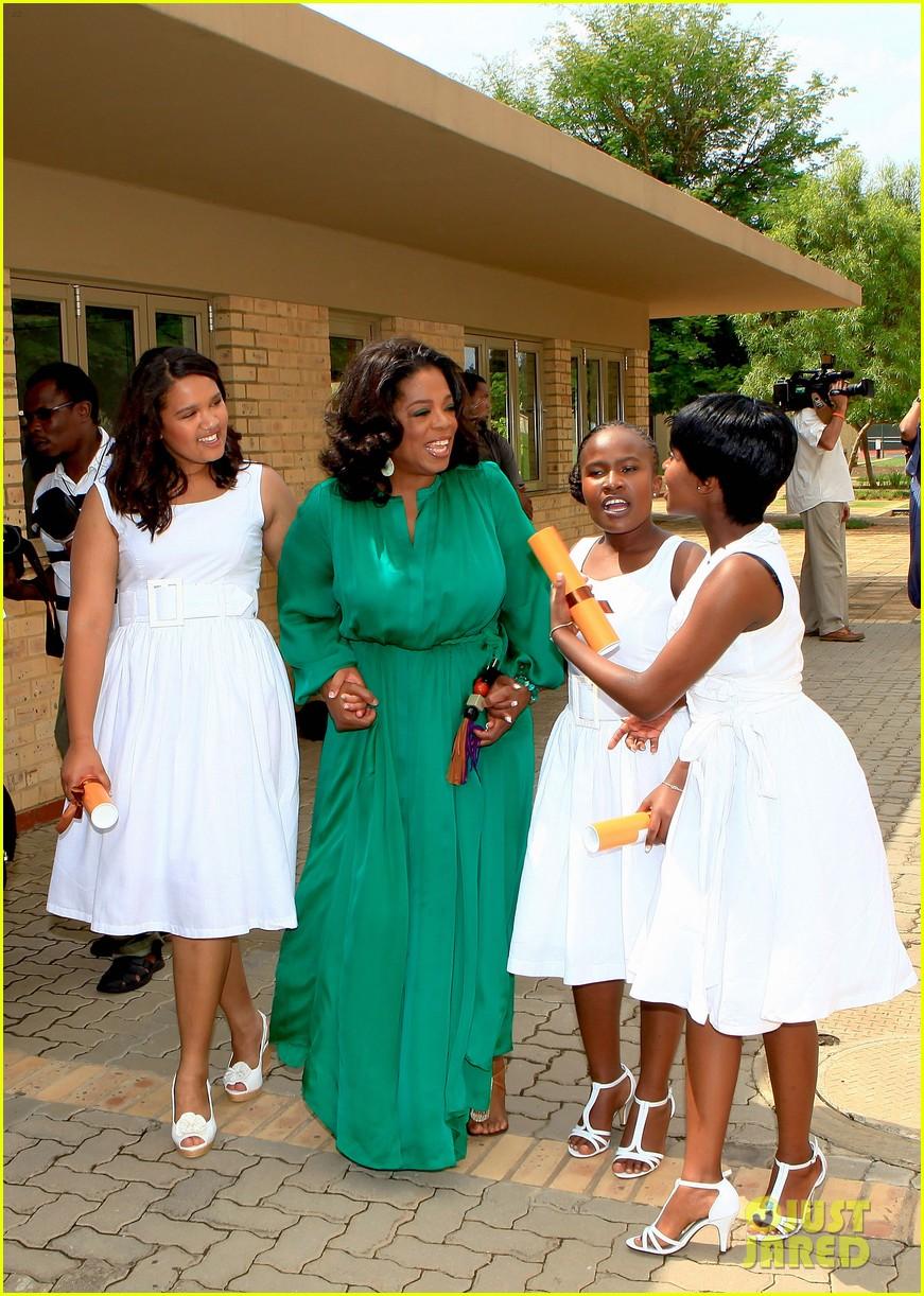 oprah winfrey leadership academy graduation 15