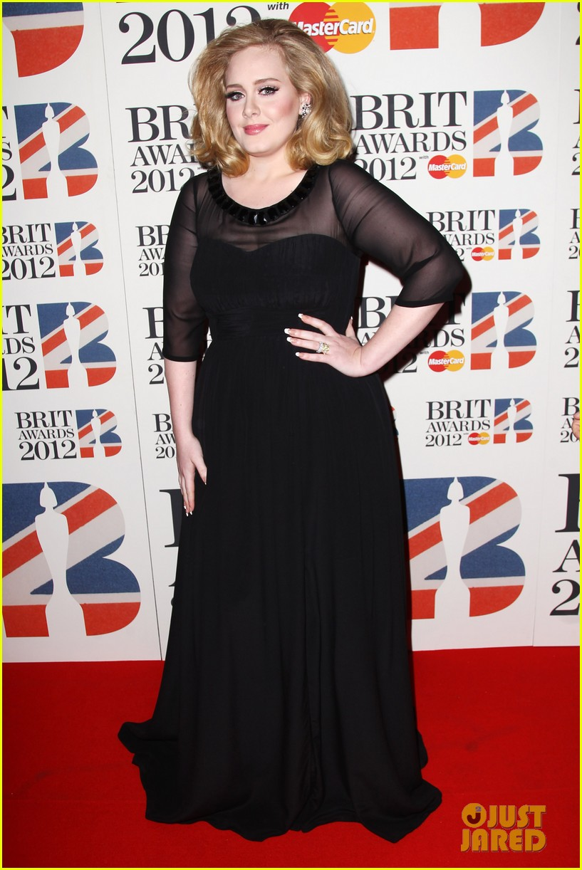 adele brits red carpet mr hudson jessie j 072631536