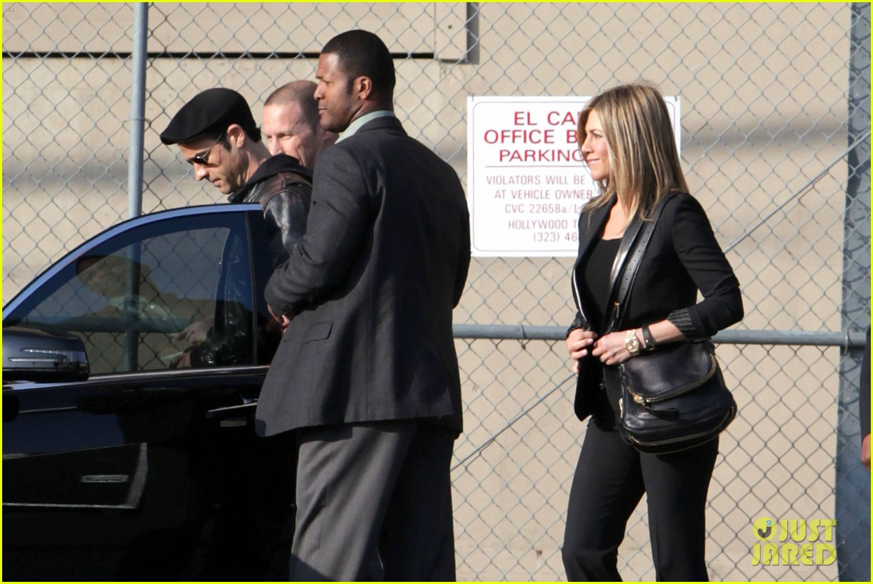 jennifer aniston kimmel justin theroux 18