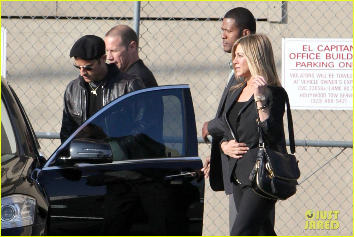 jennifer aniston kimmel justin theroux 23
