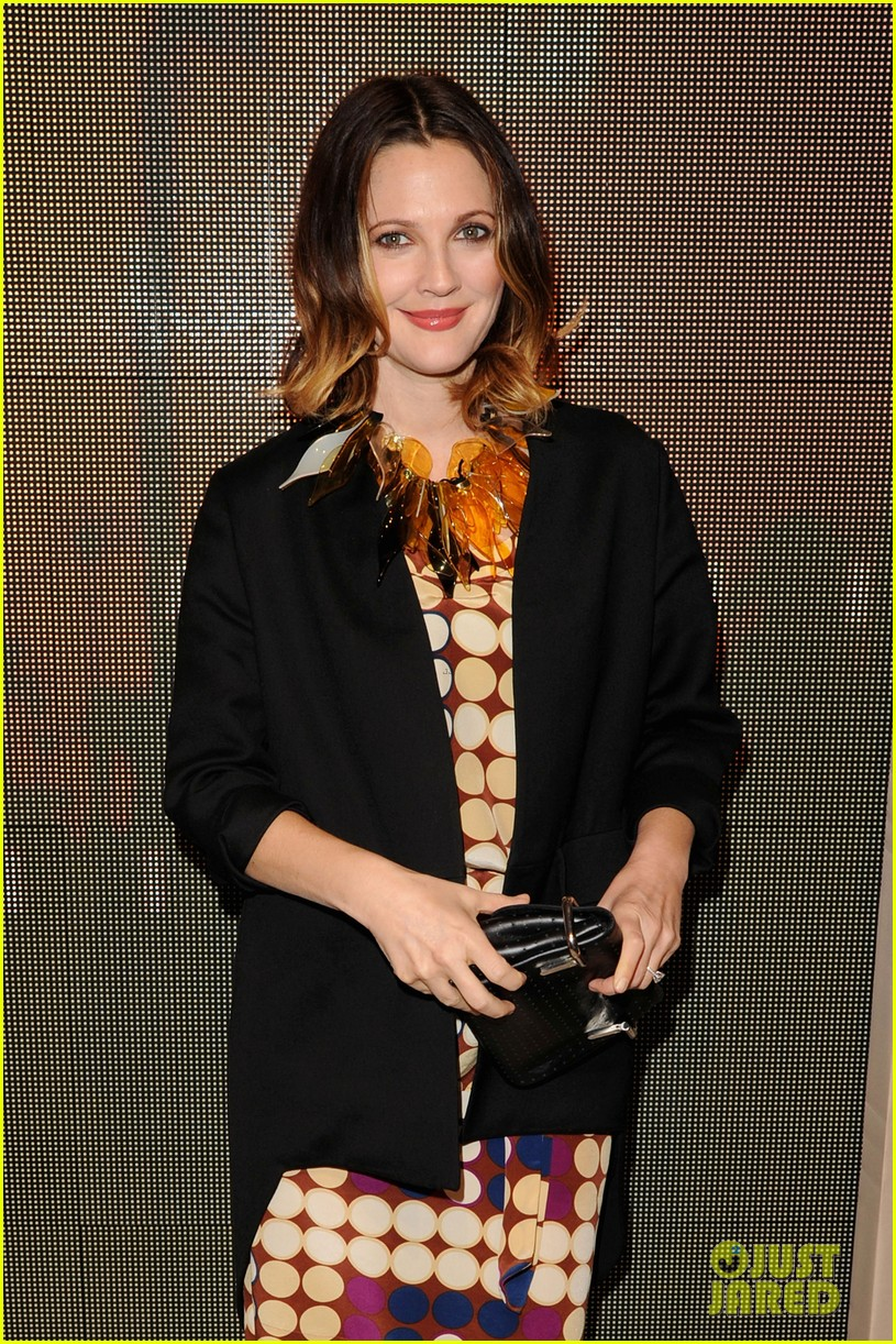 drew barrymore jessica chastain marni for hm 08