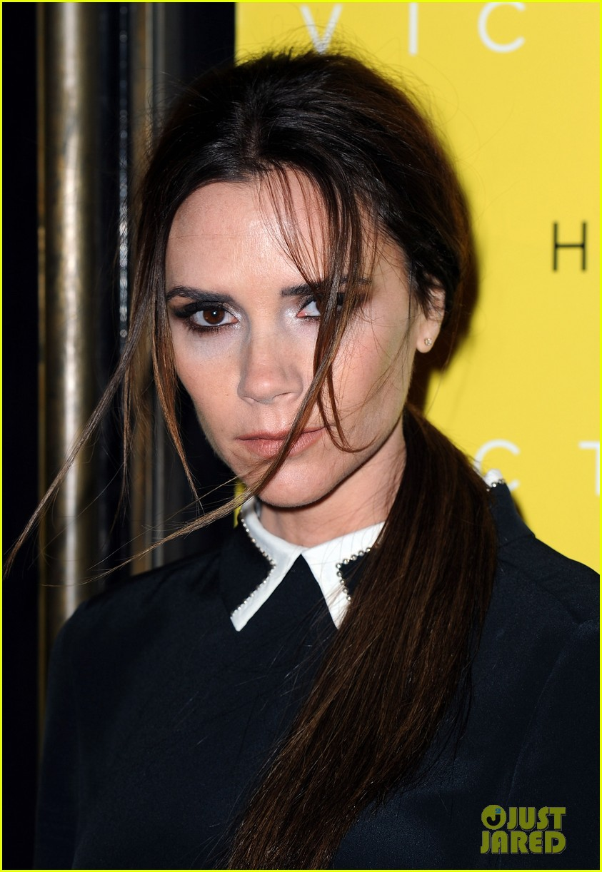 Victoria beckham collection launch at harvey nichols