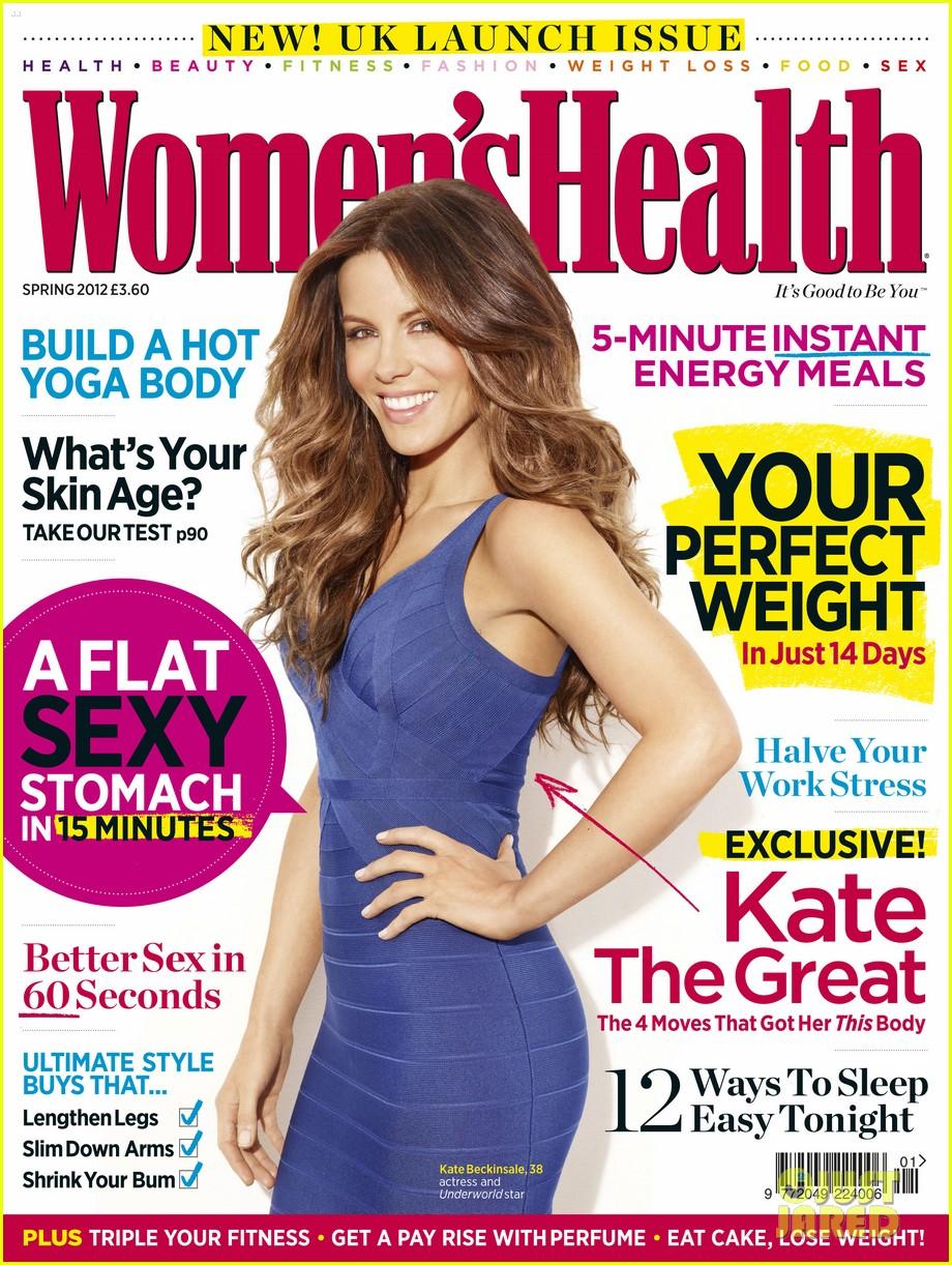 kate beckinsale womens health uk