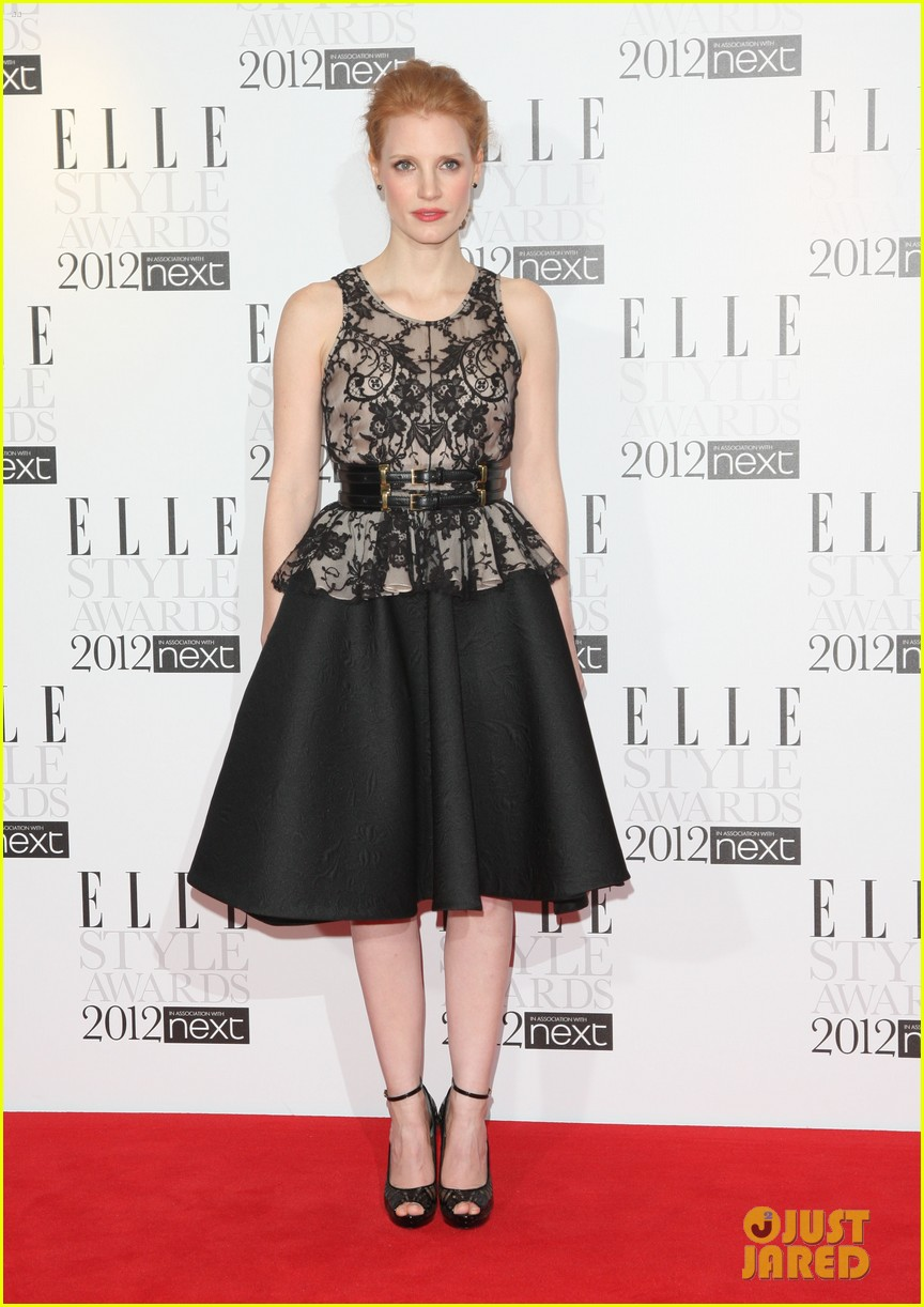jessica chastain elle style awards 05