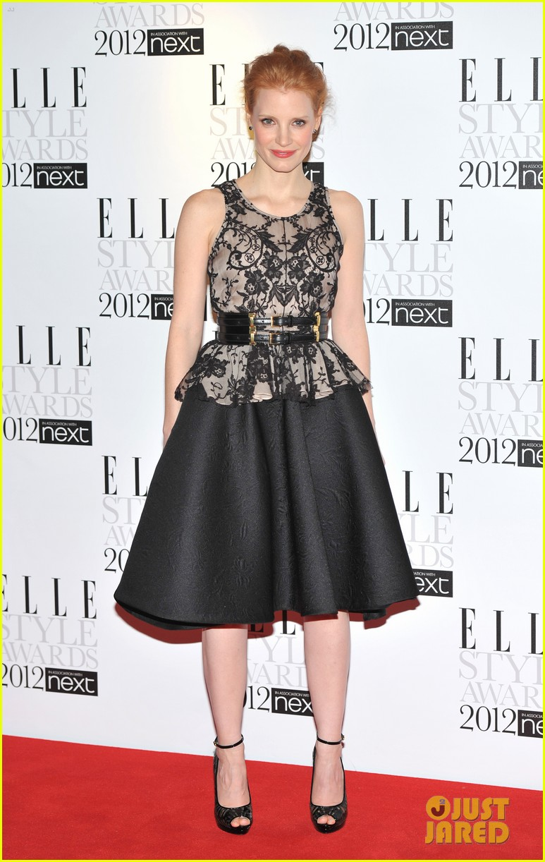jessica chastain elle style awards 06