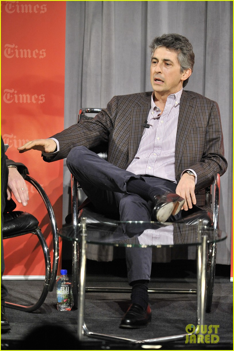 george clooney times talks with alexander payne 04