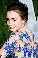 lily collins vanity fair party 16