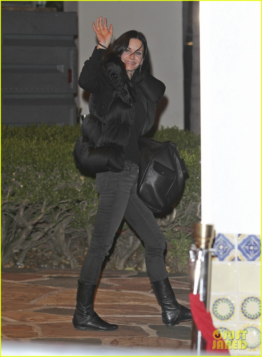 courteney cox dinner 06