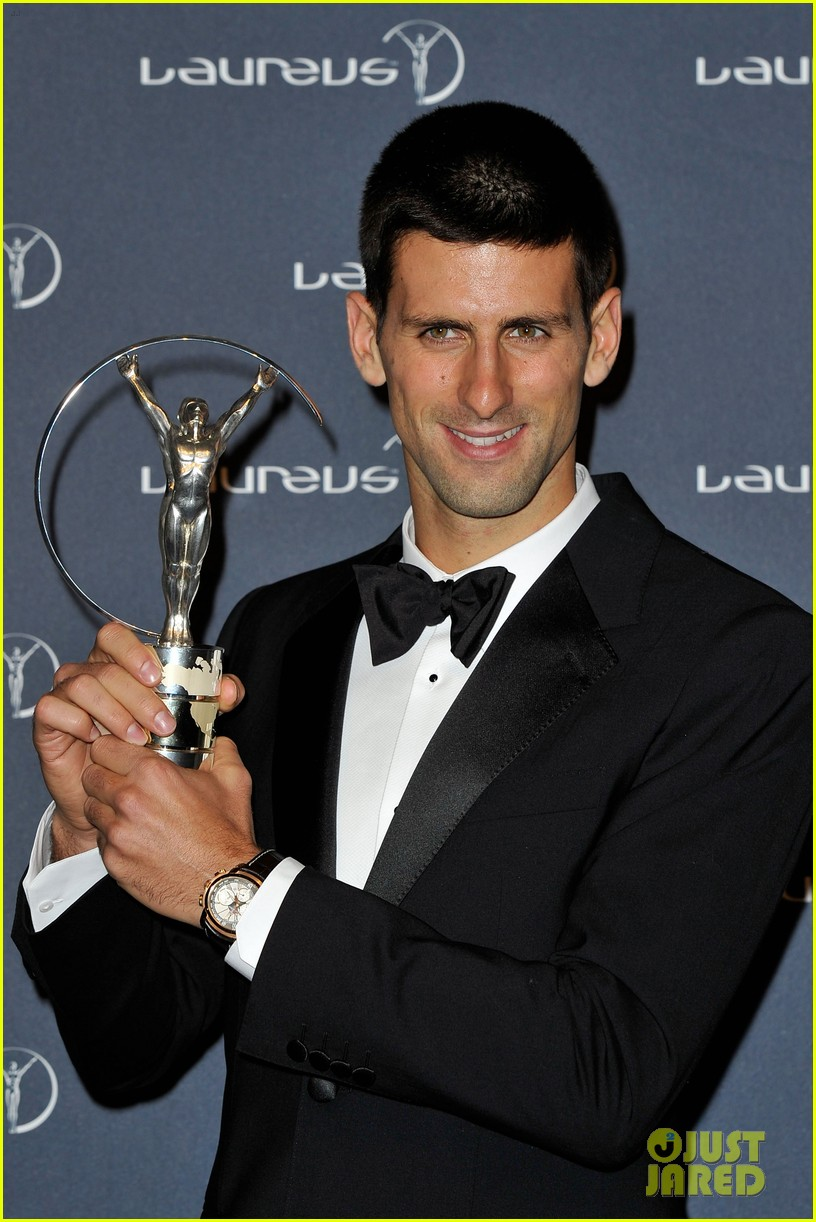 novak djokovic laureus 13