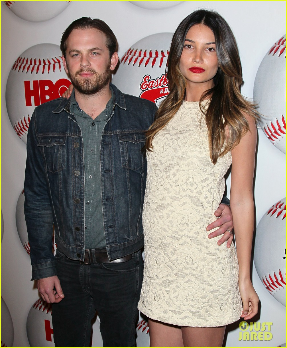 caleb followill lily aldridge eastbound premiere 02