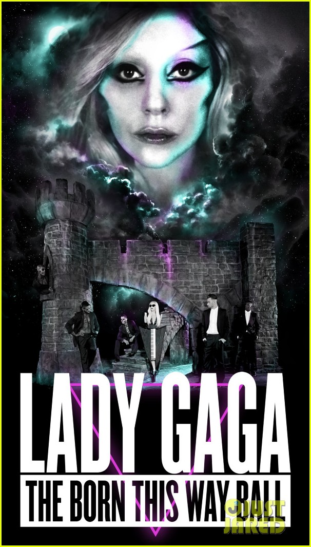 lady gaga tour poster 012626336