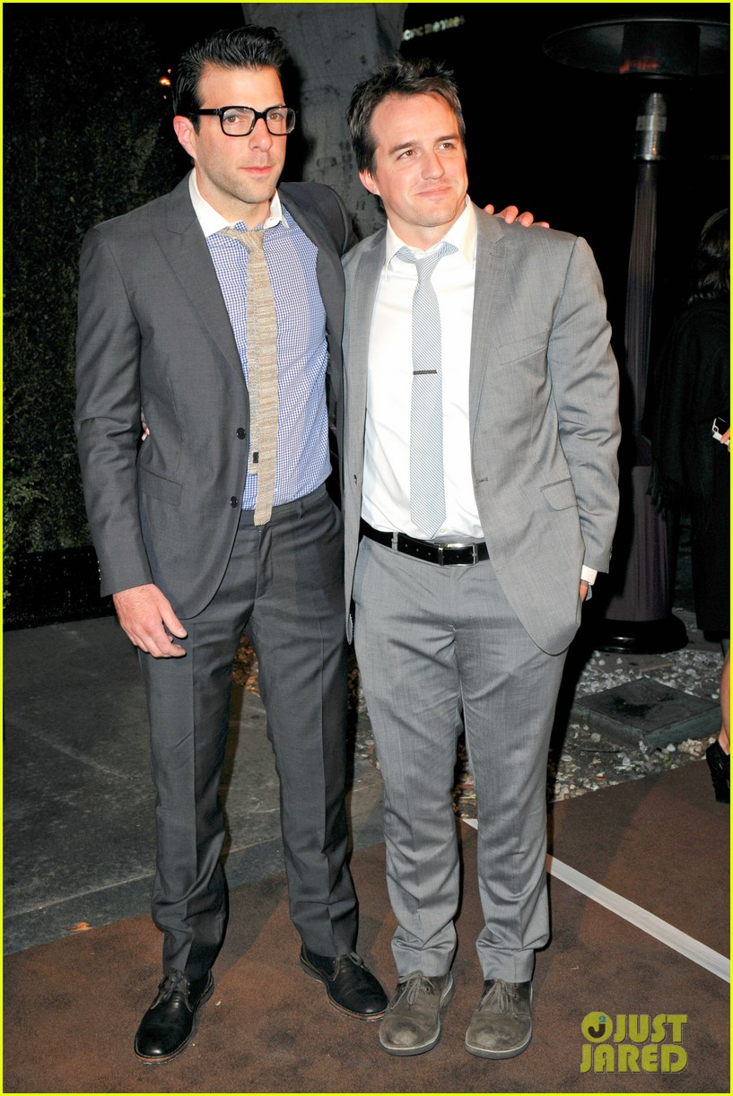 gaspard ulliel chanel pre oscar party zachary quinto 032633348