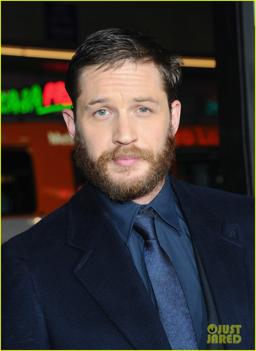tom hardy chris pine war premiere 04