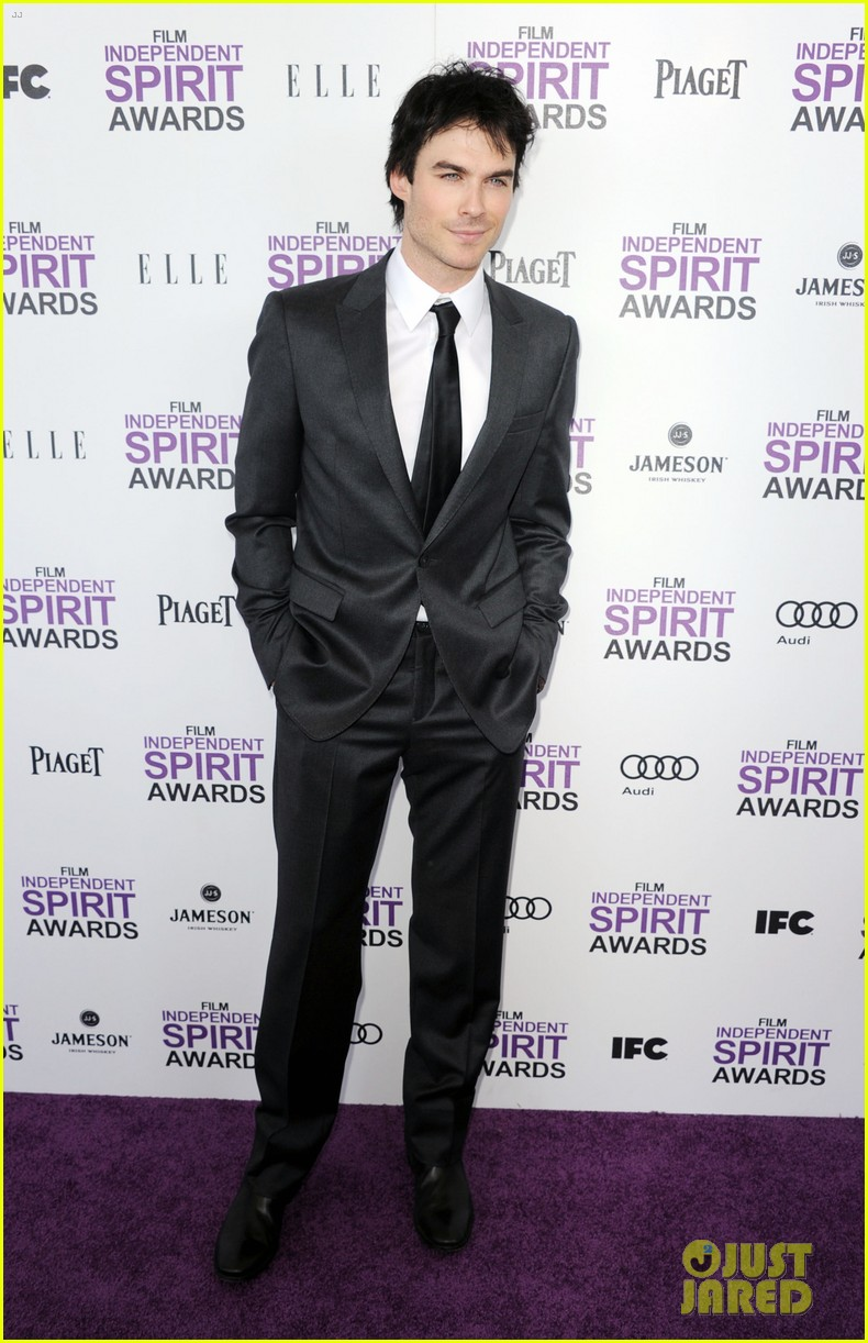 ian somerhalder zachary quinto spirit awards 2012 01