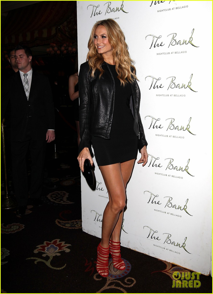 stacy keibler pre super bowl party las vegas 01