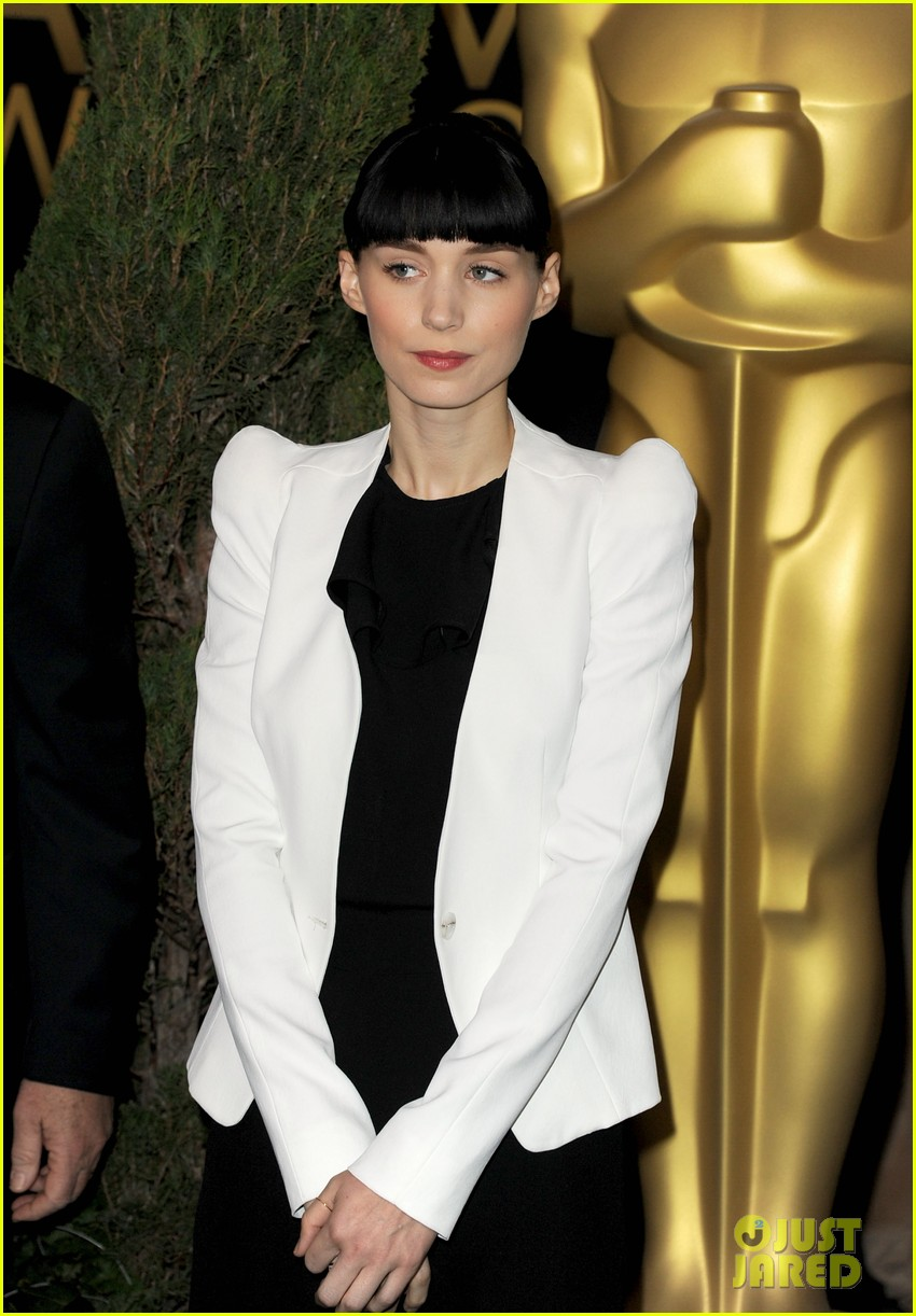 rooney mara academy awards nomination luncheon 01