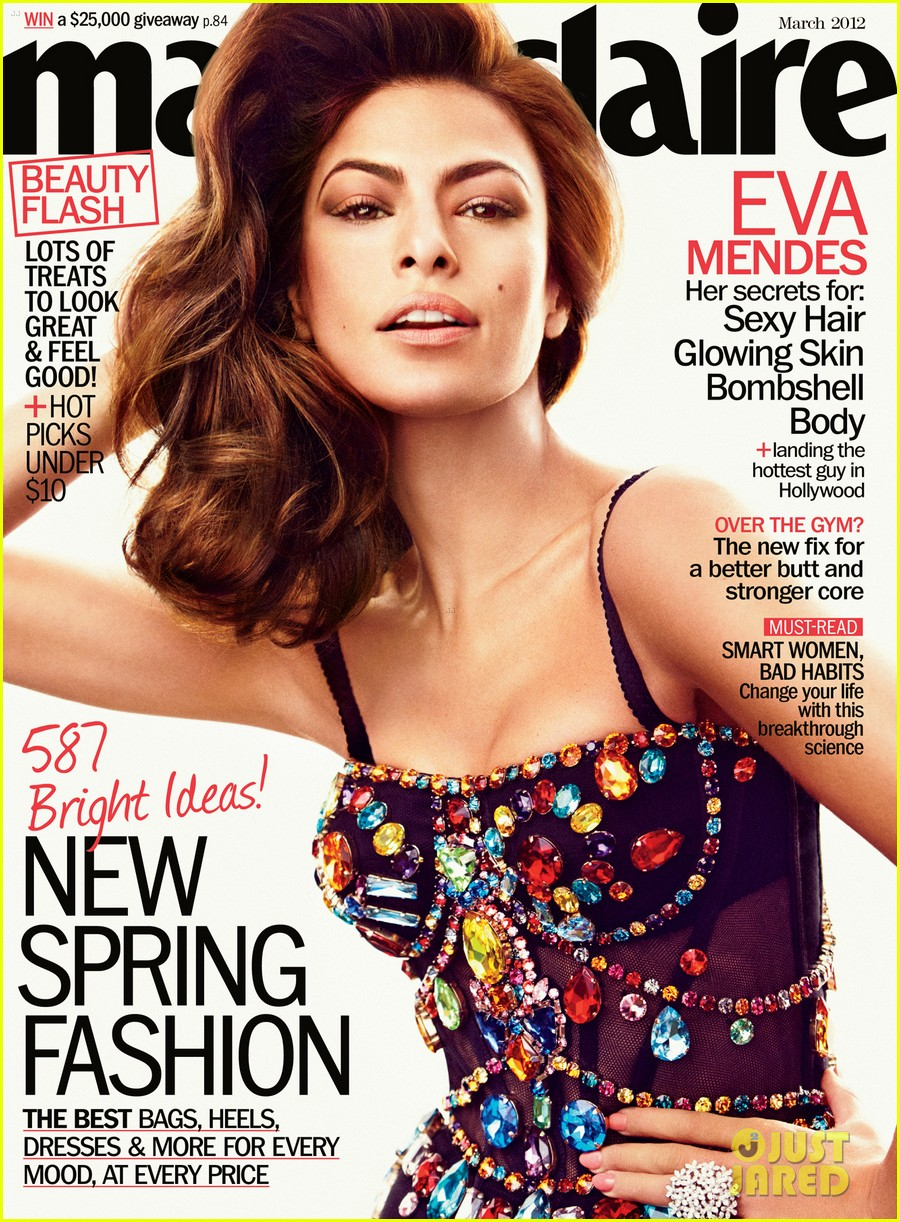 eva mendes marie claire march 2012 01
