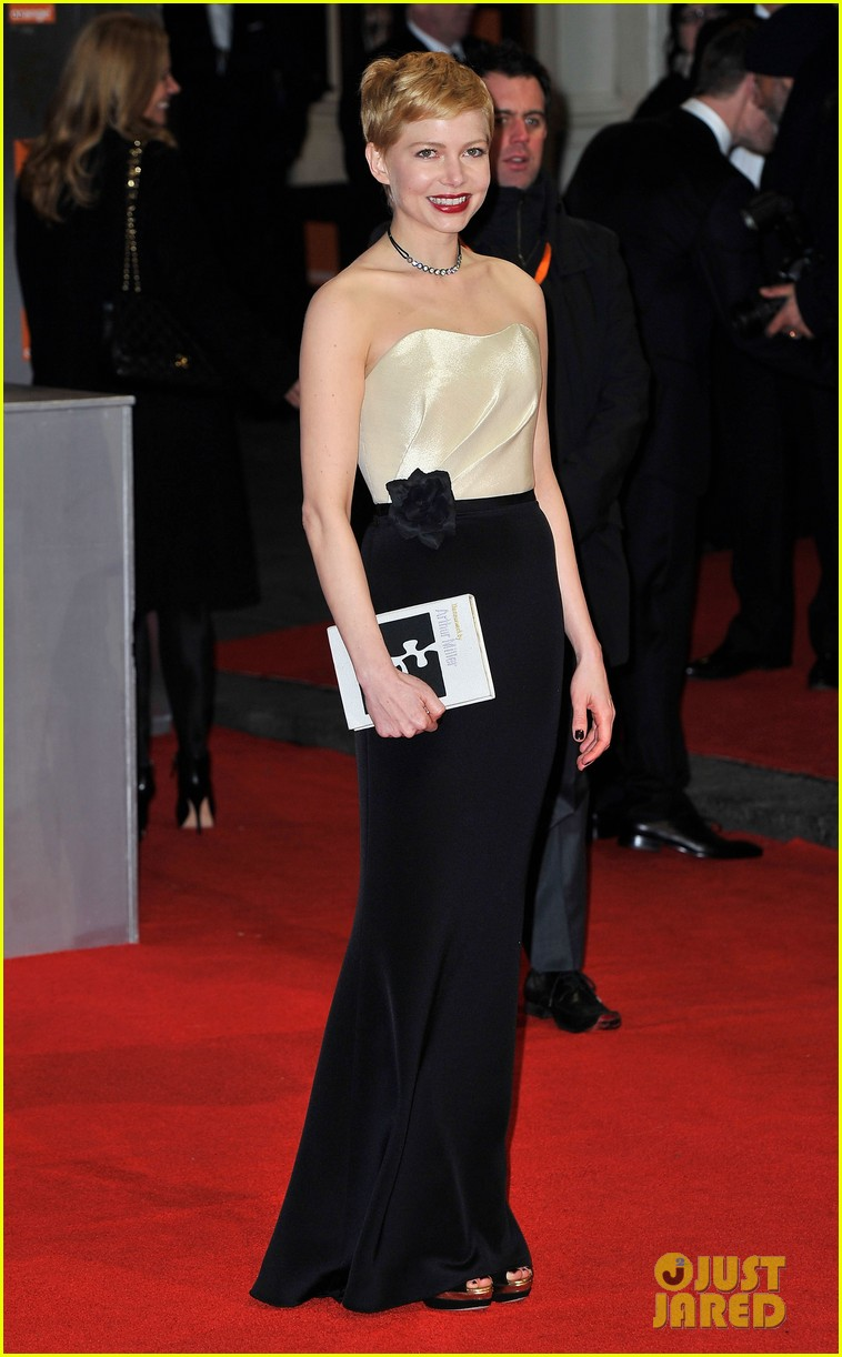 michelle williams bafta awards 2012 07