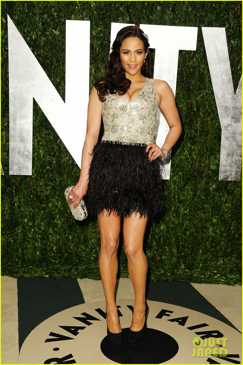paula patton robin thicke vanity fair party 01