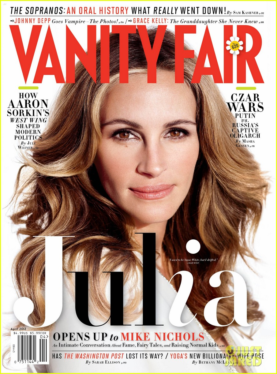 julia roberts vanity fair april 2012